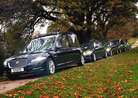 W Smith Sons Family Funeral Directors Fleet of Funeral Vehicles