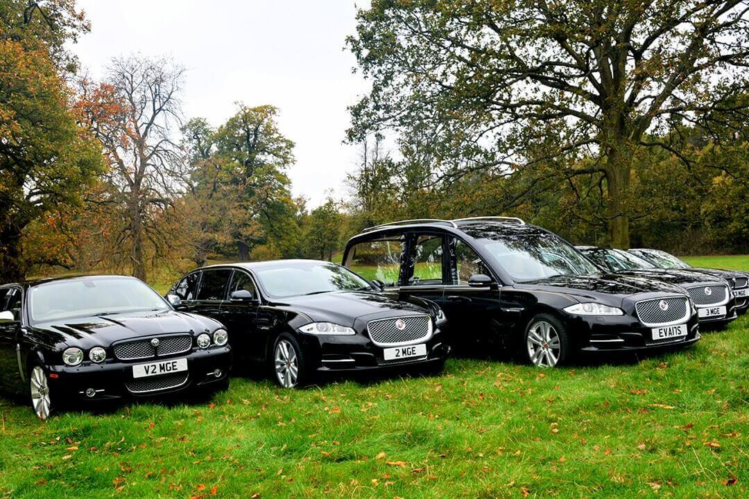 W Smith Sons Funeral Directors Jaguar Fleet Vehicle
