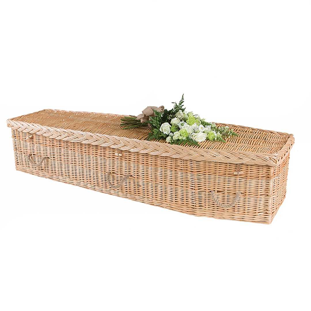 W Smith Funeral Directors The Wicker Coffin Traditional